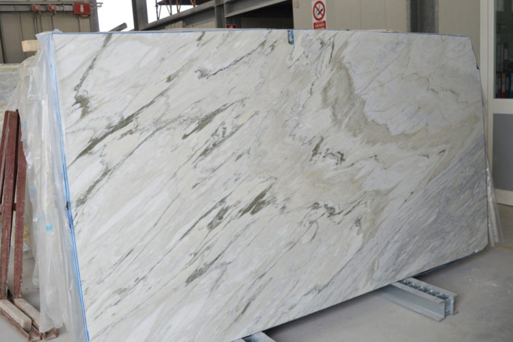 white marble slabs and blocks
